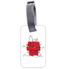 Peanuts Snoopy Luggage Tags (one Side)