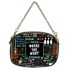 Book Quote Collage Chain Purses (one Side)  by Samandel