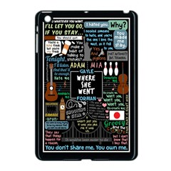Book Quote Collage Apple Ipad Mini Case (black)