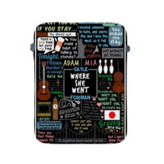 Book Quote Collage Apple Ipad 2/3/4 Protective Soft Cases