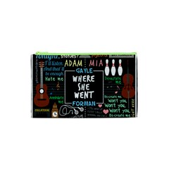 Book Quote Collage Cosmetic Bag (xs) by Samandel