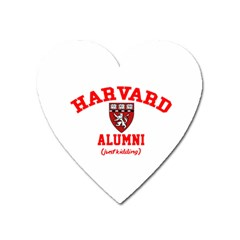 Harvard Alumni Just Kidding Heart Magnet by Samandel