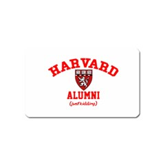 Harvard Alumni Just Kidding Magnet (name Card)