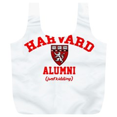 Harvard Alumni Just Kidding Full Print Recycle Bags (l)  by Samandel