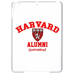 Harvard Alumni Just Kidding Apple Ipad Pro 9 7   Hardshell Case by Samandel