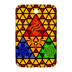 The Triforce Stained Glass Samsung Galaxy Note 8 0 N5100 Hardshell Case  by Samandel