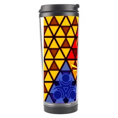 The Triforce Stained Glass Travel Tumbler