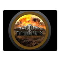 World Of Tanks Wot Double Sided Fleece Blanket (small)  by Samandel