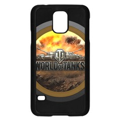 World Of Tanks Wot Samsung Galaxy S5 Case (black) by Samandel