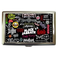 Metal Bands College Cigarette Money Cases by Samandel