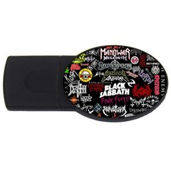 Metal Bands College Usb Flash Drive Oval (4 Gb)