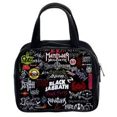 Metal Bands College Classic Handbags (2 Sides) by Samandel