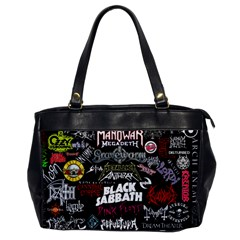 Metal Bands College Office Handbags