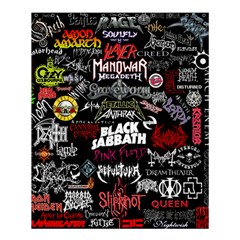Metal Bands College Shower Curtain 60  X 72  (medium)  by Samandel