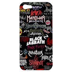 Metal Bands College Apple Iphone 5 Hardshell Case