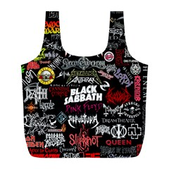 Metal Bands College Full Print Recycle Bags (l)  by Samandel