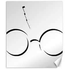 Harry Potter Inspired Lightning Glasses Symbol Canvas 20  X 24