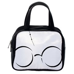 Harry Potter Inspired Lightning Glasses Symbol Classic Handbags (one Side)