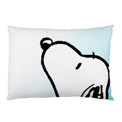 Snoopy Love Pillow Case (two Sides)