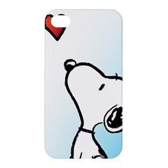 Snoopy Love Apple Iphone 4/4s Hardshell Case