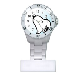 Snoopy Love Plastic Nurses Watch