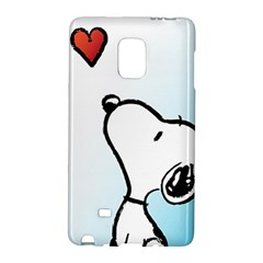 Snoopy Love Galaxy Note Edge