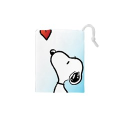 Snoopy Love Drawstring Pouches (xs)