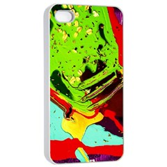 Untitled Island 6 Apple Iphone 4/4s Seamless Case (white) by bestdesignintheworld