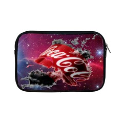 Coca Cola Drinks Logo On Galaxy Nebula Apple Ipad Mini Zipper Cases by Samandel