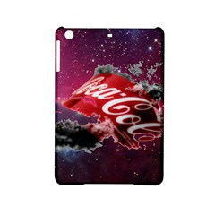 Coca Cola Drinks Logo On Galaxy Nebula Ipad Mini 2 Hardshell Cases by Samandel