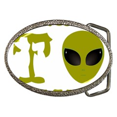 I Want To Believe Belt Buckles by Samandel