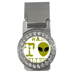 I Want To Believe Money Clips (cz)