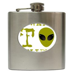 I Want To Believe Hip Flask (6 Oz)