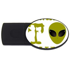 I Want To Believe Usb Flash Drive Oval (4 Gb)