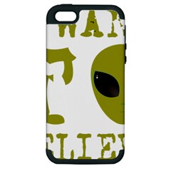 I Want To Believe Apple Iphone 5 Hardshell Case (pc+silicone) by Samandel