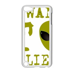 I Want To Believe Apple Ipod Touch 5 Case (white)