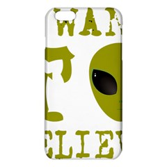 I Want To Believe Iphone 6 Plus/6s Plus Tpu Case by Samandel