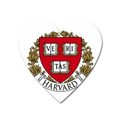Harvard University Logo Heart Magnet by Samandel