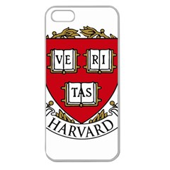 Harvard University Logo Apple Seamless Iphone 5 Case (clear) by Samandel