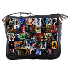 Comic Book Images Messenger Bags