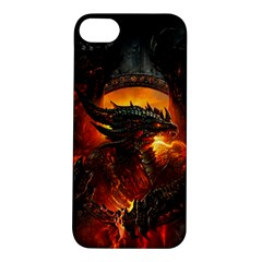 Dragon Legend Art Fire Digital Fantasy Apple Iphone 5s/ Se Hardshell Case