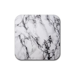 Marble Pattern Rubber Square Coaster (4 Pack)