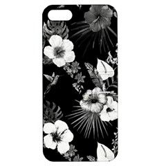 Tropical Pattern Apple Iphone 5 Hardshell Case With Stand by Valentinaart