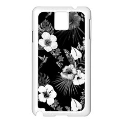 Tropical Pattern Samsung Galaxy Note 3 N9005 Case (white) by Valentinaart