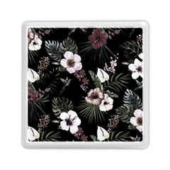 Tropical Pattern Memory Card Reader (square)  by Valentinaart