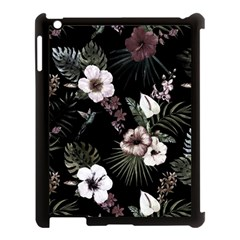Tropical Pattern Apple Ipad 3/4 Case (black) by Valentinaart