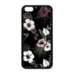 Tropical Pattern Apple Iphone 5c Seamless Case (black)
