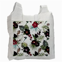 Tropical Pattern Recycle Bag (two Side)  by Valentinaart