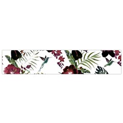 Tropical Pattern Small Flano Scarf by Valentinaart