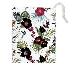 Tropical Pattern Drawstring Pouches (xxl)